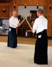 Jeg underviser både i Tai Jutsu (aikido'ens kropsteknikker) såvel som i de traditionelle Aikido våbenformer Aiki-ken og Aiki-jo (sværd og stav).