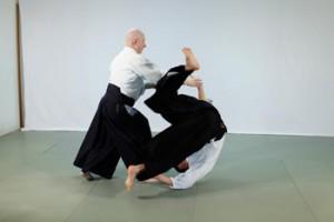 Aikido undervises som en ikke-aggressivt kampkunst, og Aikido principper danner grundlaget for mange konflikthåndterings systemer.